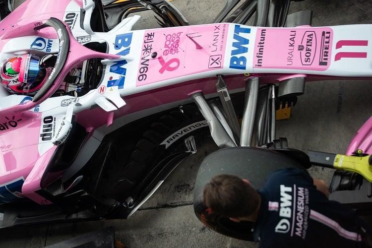 Sergio Pérez - Racing Point Force India F1 Team - Autodromo Nazionale Monza