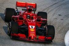 Sebastian Vettel - Singapore Grand Prix - F1