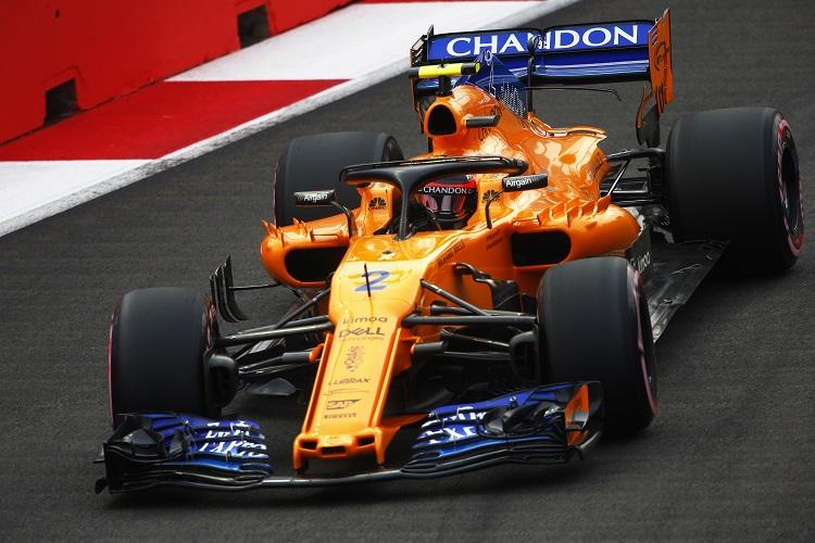 Stoffel Vandoorne - McLaren F1 Team - Marina Bay Street Circuit