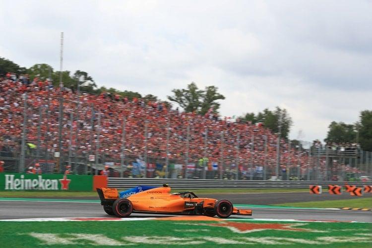 Stoffel Vandoorne - Italian Grand Prix - F1