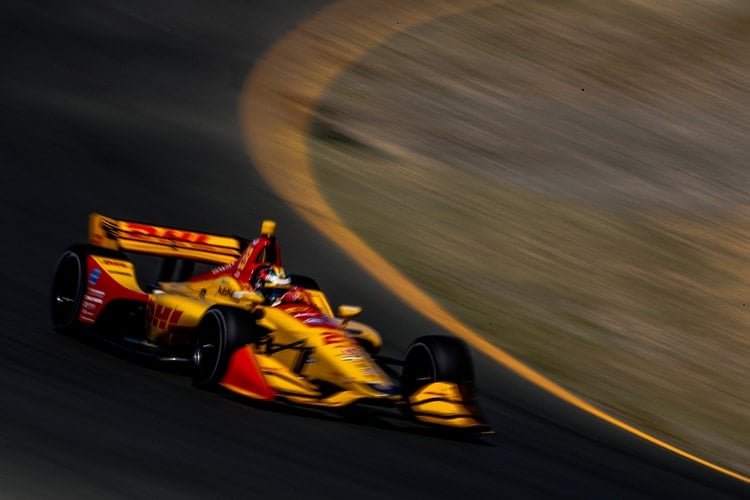 Ryan Hunter-Reay (USA), Andretti Autosport, 2018 Verizon IndyCar Series, Sonoma