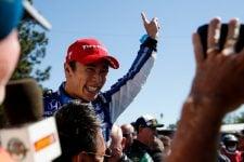 Takuma Sato (JAP), Rahal Letterman Lanigan Racing, 2018 Verizon IndyCar Series, Portland