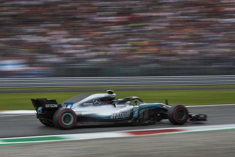 Valtteri Bottas - Mercedes AMG Petronas Motorsport - Autodromo Nazionale Monza