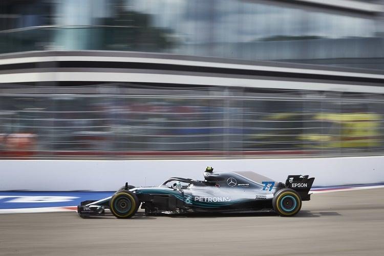 Valtteri Bottas - Mercedes AMG Petronas Motorsport - Sochi Autodrom