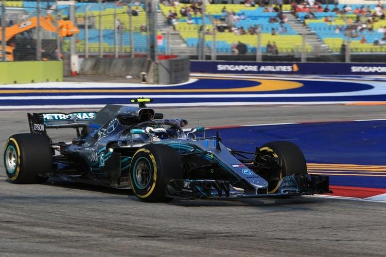 Valtteri Bottas - Mercedes AMG Petronas Motorsport - Singapore GP