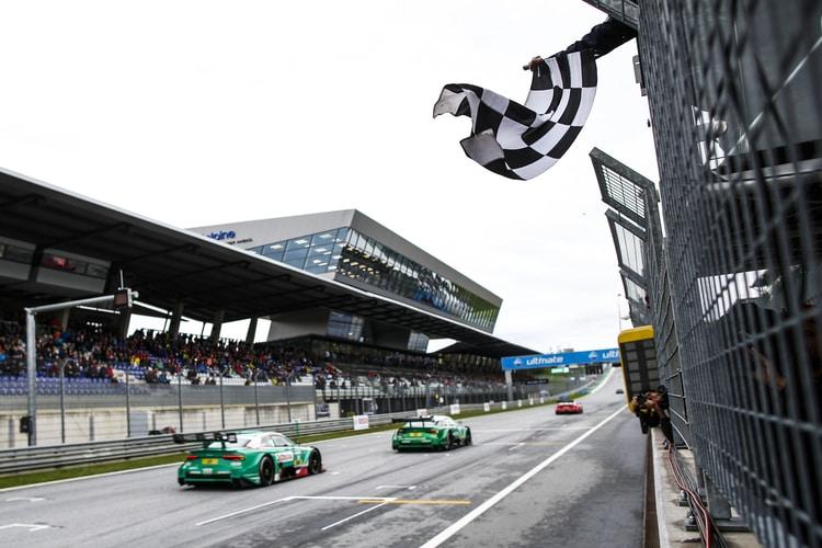 Nico Müller, Mike Rockenfeller and René Rast: 2018 DTM Series - Red Bull Ring