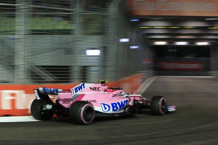 Esteban Ocon - Formula 1 - 2018 Singapore GP