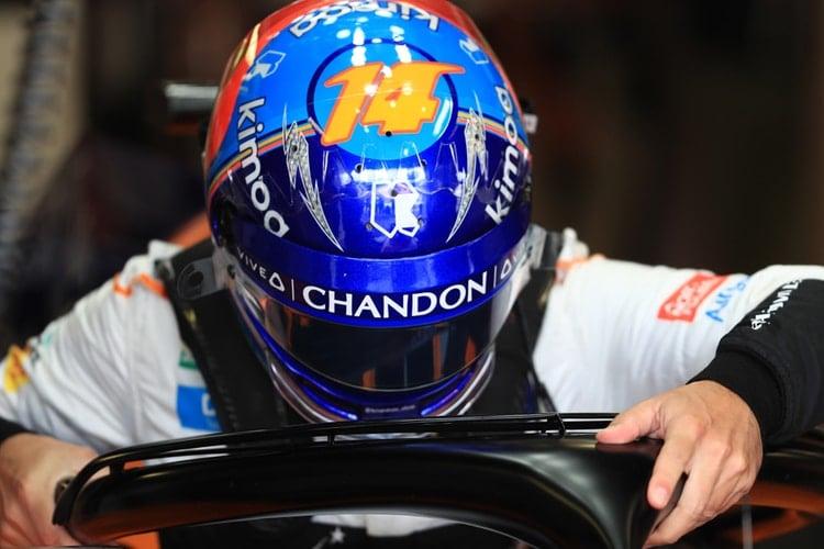 Fernando Alonso - Formula 1 - 2018 Italian GP