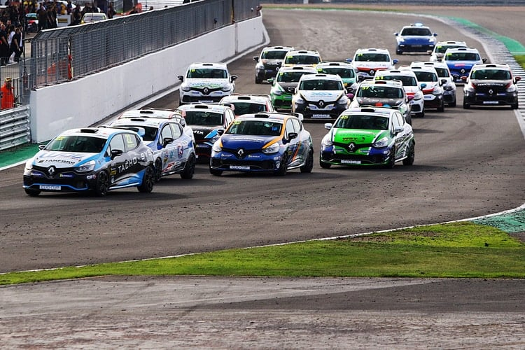 Renault UK Clio Cup Silverstone