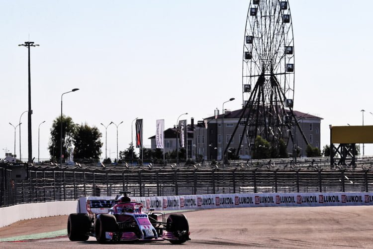 Sergio Perez - Russian Grand Prix