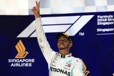 Lewis Hamilton - Formula 1 - 2018 Singapore GP