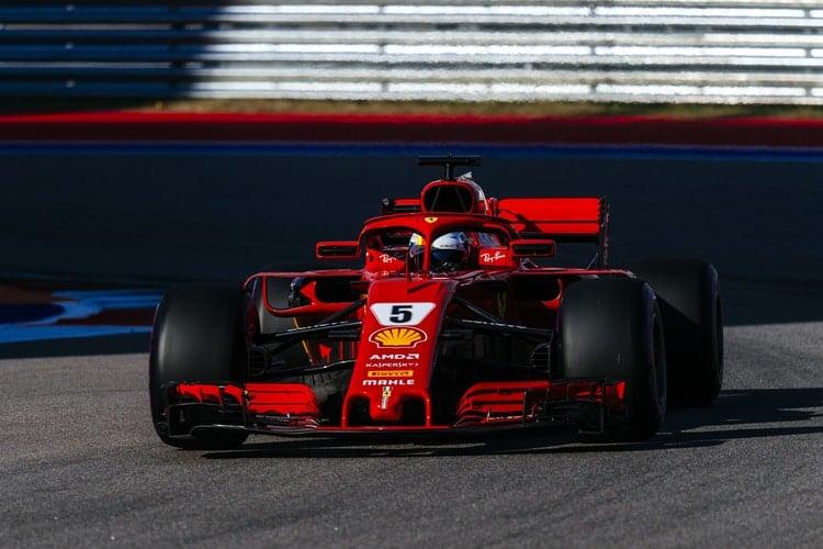 Sebastian Vettel - Formula 1 - 2018 Russian GP