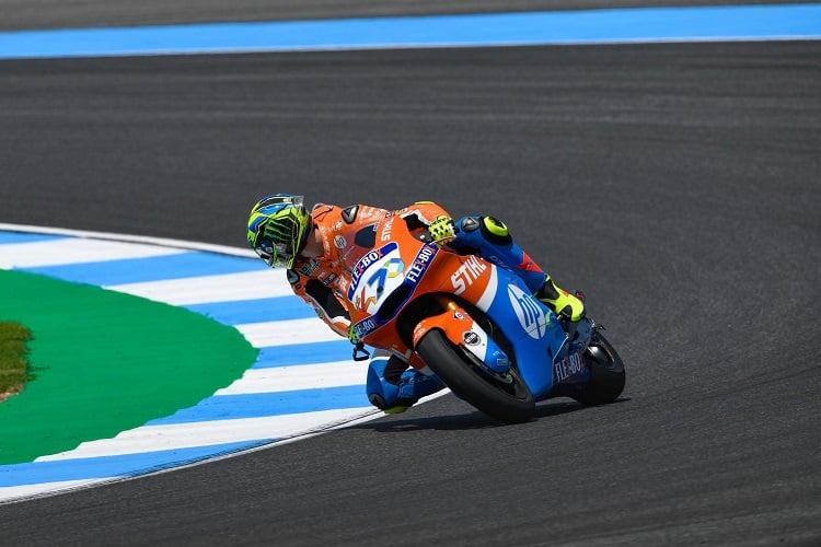 Lorenzo Baldassarri - Photo Credit: MotoGP.com