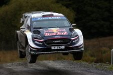 Sebastien Ogier / Julien Ingrassia M-SPORT FORD WORLD RALLY TEAM Ford Fiesta WRC