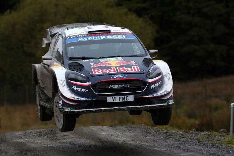 Sebastien Ogier / Julien Ingrassia M-SPORT FORD WORLD RALLY TEAM Ford Fiesta WRC