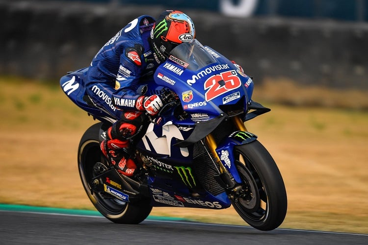 Vinales and Rossi Hand Yamaha Boost in Thailand FP1 - The Checkered Flag bea1cd800db