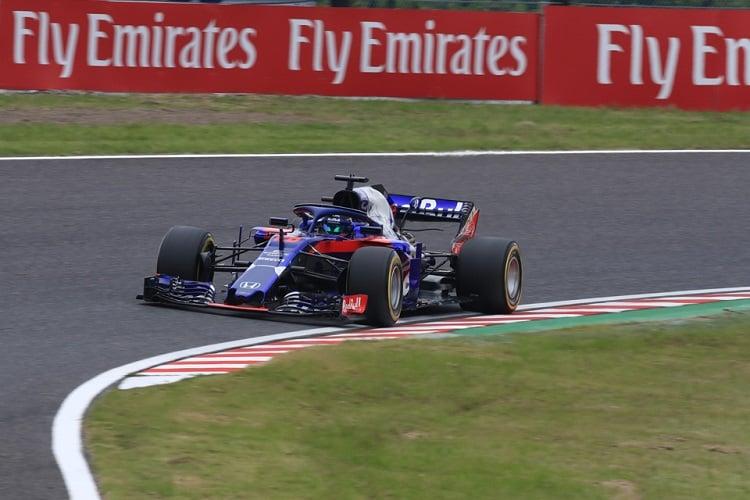 Brendon Hartley - Red Bull Toro Rosso Honda - Suzuka International Racing Course