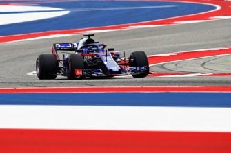 Brendon Hartley - Red Bull Toro Rosso Honda - Circuit of the Americas