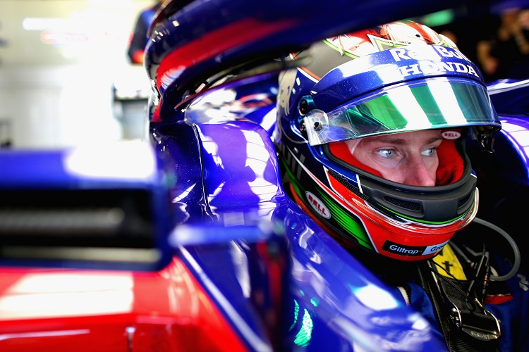 Brendon Hartley - Red Bull Toro Rosso Honda - Autodromo Hermanos Rodriguez