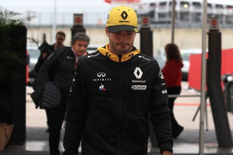 Carlos Sainz Jr. - Renault Sport Formula One Team - Circuit of the Americas