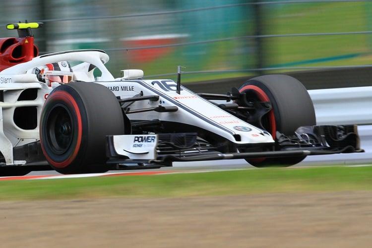 Charles Leclerc - Alfa Romeo Sauber F1 Team - Suzuka International Racing Course