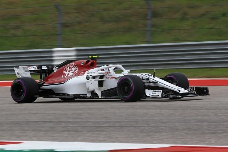 Charles Leclerc - Alfa Romeo Sauber F1 Team - Circuit of the Americas