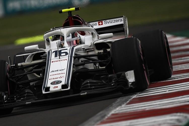 Charles Leclerc - Alfa Romeo Sauber F1 Team - Autodromo Hermanos Rodriguez