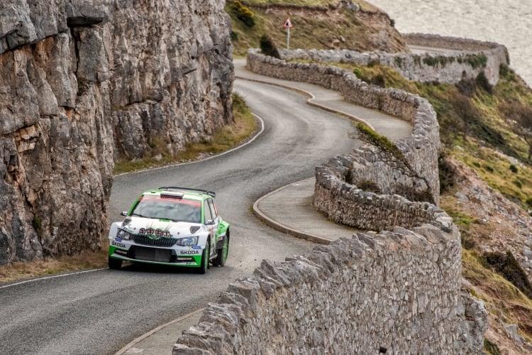 Kalle Rovaperä Wales Rally GB