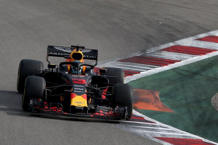 Daniel Ricciardo - Aston Martin Red Bull Racing - Sochi Autodrom