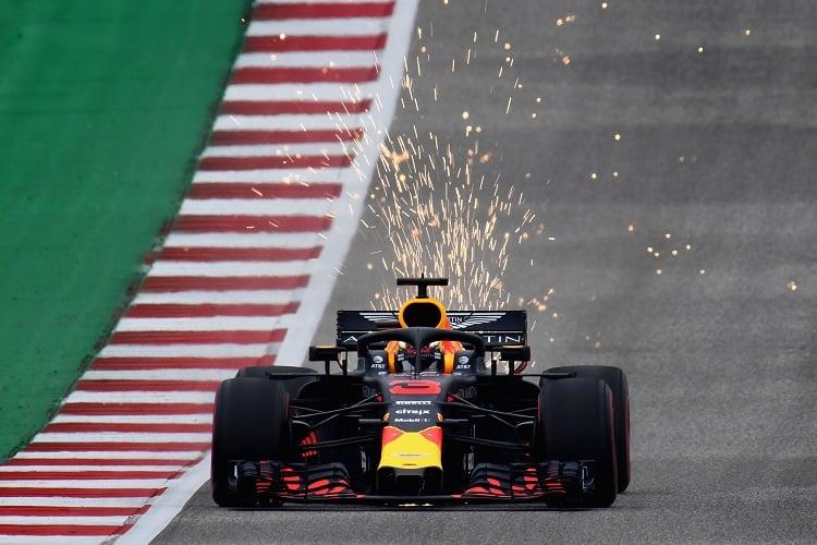 Daniel Ricciardo - Aston Martin Red Bull Racing - CIrcuit of the Americas