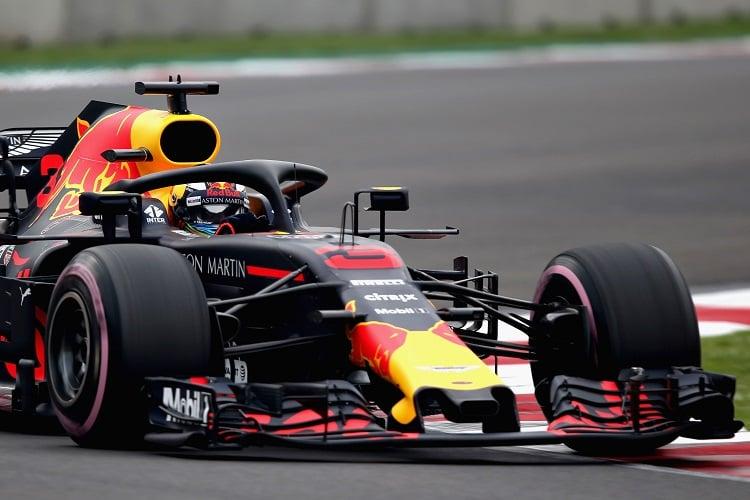 Daniel Ricciardo - Aston Martin Red Bull Racing - Autodromo Hermanos Rodriguez