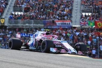 Esteban Ocon - Racing Point Force India F1 Team - US GP