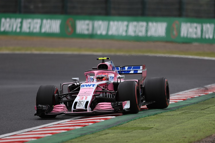 Esteban Ocon - Racing Point Force India F1 Team - Suzuka International Racing Course