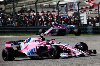 Esteban Ocon - Racing Point Force India F1 Team - Circuit of the Americas