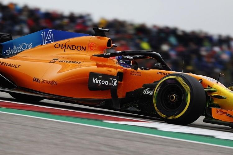 Fernando Alonso - McLaren F1 Team - Circuit of the Americas