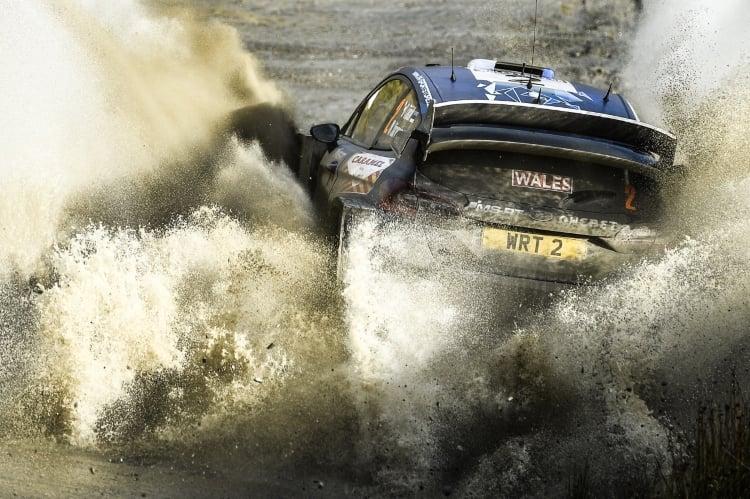 M-Sport Fiesta WRC 2017 Wales Rally GB