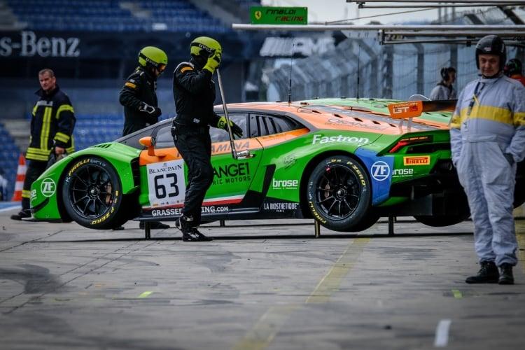 #63 GRT Grasser Racing Team AUT Lamborghini Huracan GT3 - Mirko Bortolotti ITA Christian Engelhart DEU, Free Practice 2 | SRO / Dirk Bogaerts Photography
