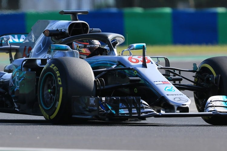 George Russell - Mercedes AMG Petronas Motorsport - Barcelona In-Season Test Day 1