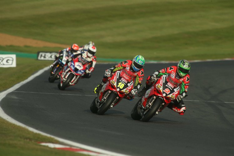 Glenn Irwin wins opening race at Brands Hatch