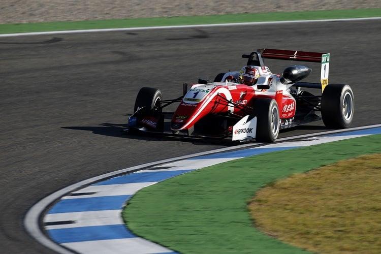 Guanyu Zhou - Prema Theodore Racing - Hockenheimring