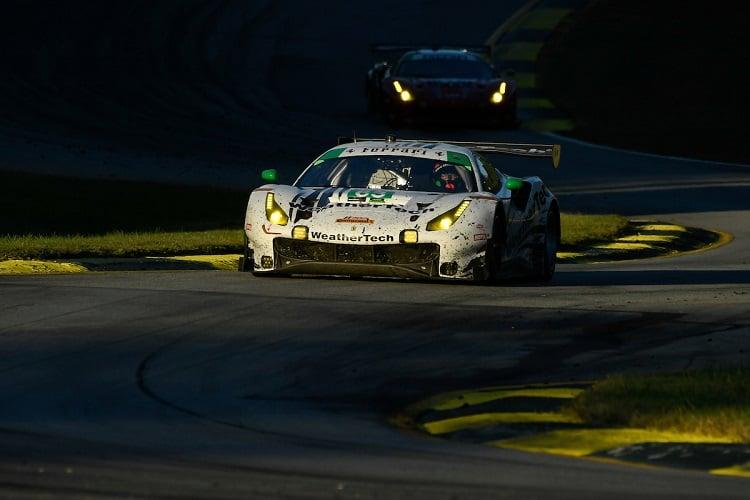 Gunnar Jeannete, Cooper MacNeil & Daniel Serra - Scuderia Corsa - Petit Le Mans