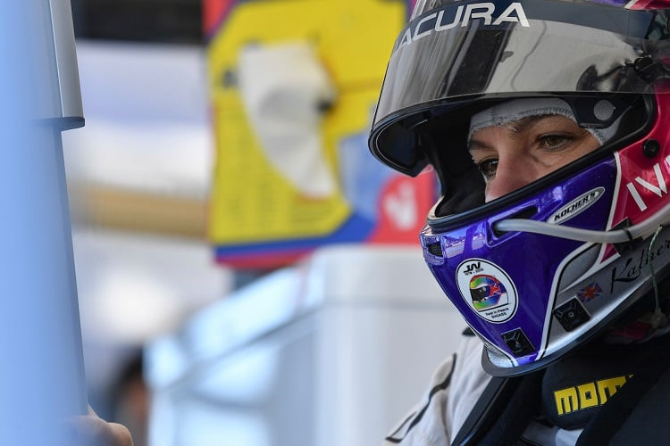 Katherine Legge - Meyer Shank Racing