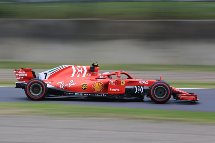 Kimi Räikkönen - Scuderia Ferrari - Suzuka International Racing Course