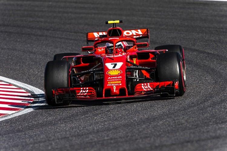 Kimi Räikkönen - Scuderia Ferrari - Suzuka International Racing Course