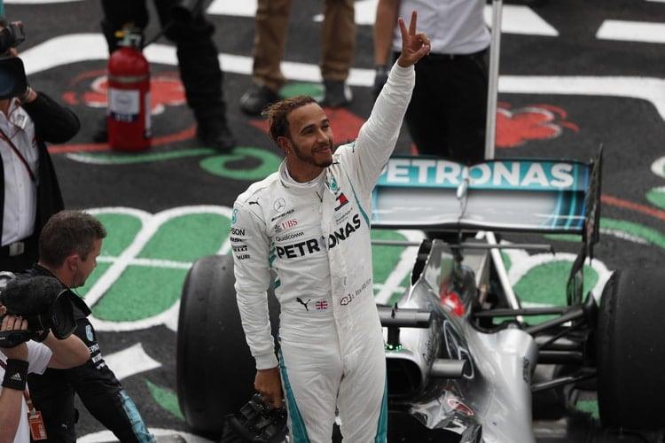 Lewis Hamilton - Mercedes AMG Pertronas Motorsport - Mexican GP