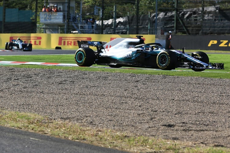 Lewis Hamilton - Mercedes AMG Petronas Motorsport - Suzuka International Racing Course