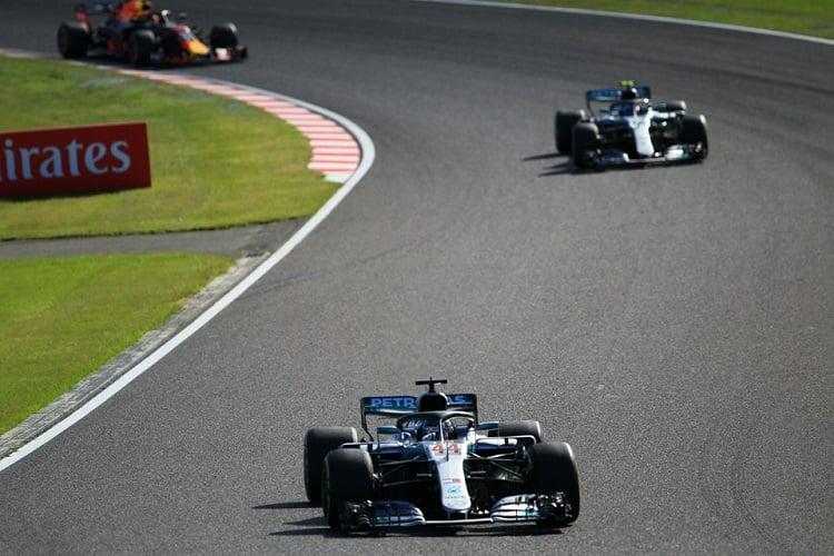 Lewis Hamilton & Valtteri Bottas - Mercedes AMG Petronas Motorsport - Suzuka International Racing Course