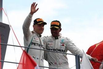 Valtteri Bottas & Lewis Hamilton - Mercedes AMG Petronas Motorsport