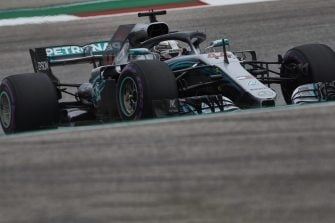 Lewis Hamilton - Mercedes AMG Petronas Motorsport - Circuit of the Americas