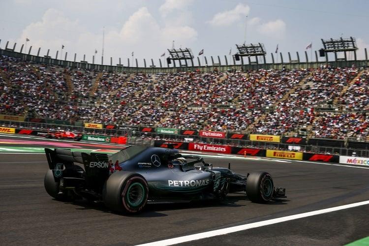 Lewis Hamilton - Mercedes AMG Petronas Motorsport - Autodromo Hermanos Rodriguez
